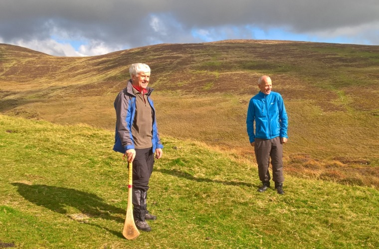 On the Poc Fada course, Annavarna