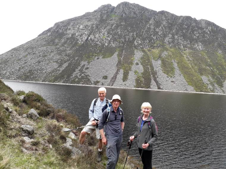 Meelmore Lodge to Ben Crom May 2019